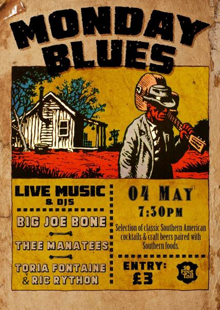 Monday Blues Poster